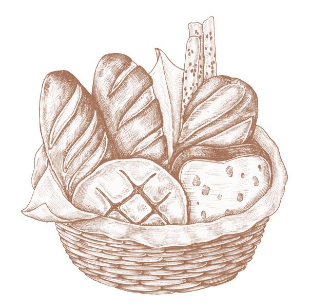 pandería y productos artesano dulces